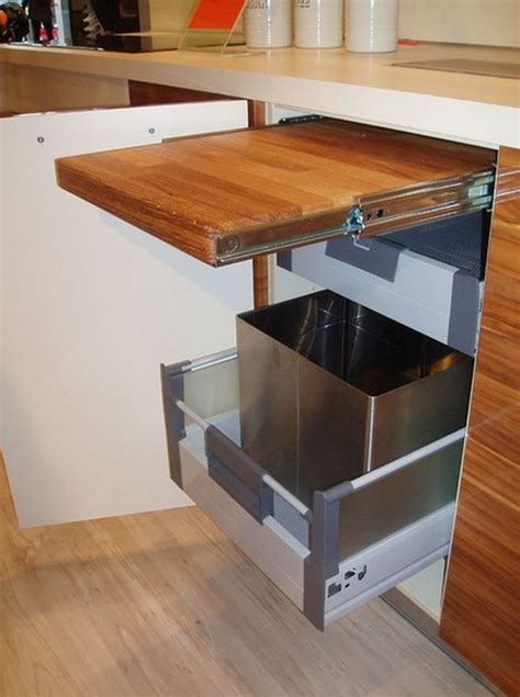 Pull Out Countertop by 10 Smart And Affordable Space Savers For The Kitchen