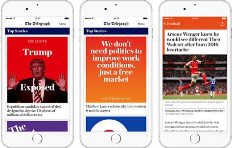 new app new telegraph app delivering news that matters to you