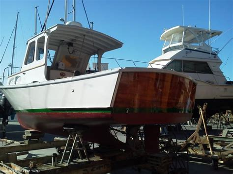 striper boats for sale california 1977 used riverside 24 striper lobster boat lobster