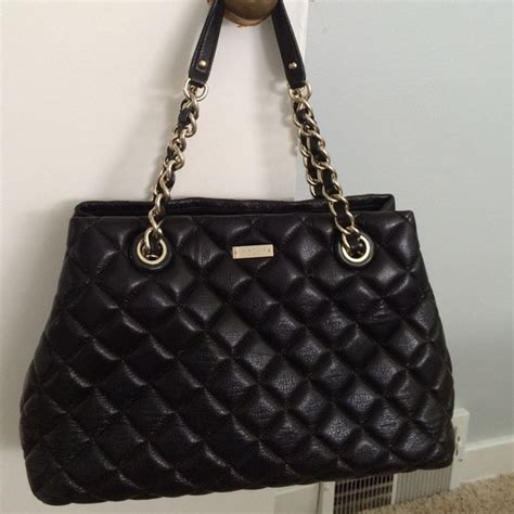 Black Quilted Kate Spade Purse by 73 Kate Spade Handbags Kate Spade Quilted Black Bag