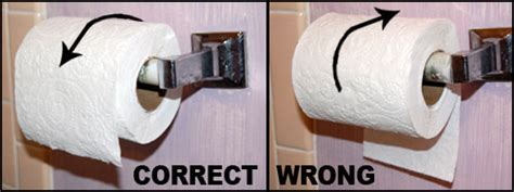 toilet paper backwards putting toilet paper on the roll backwards eckert complains