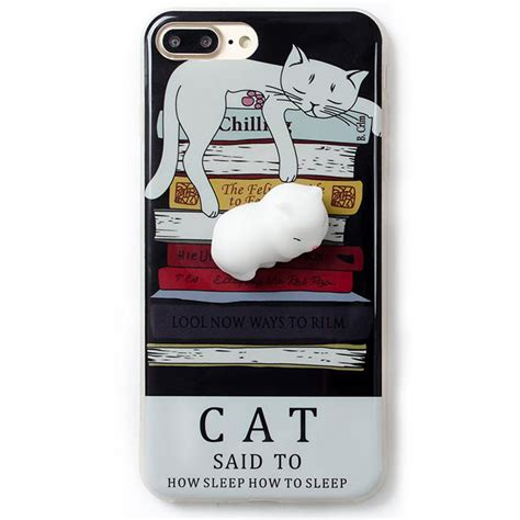 Sh15 Iphone 6 S Squishy squishy cat claw for iphone 6 plus 6s plus blue