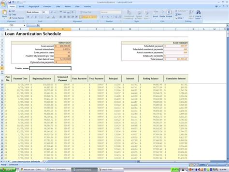 amortization formula excel template amortization spreadsheet excel free mortgage spreadsheet