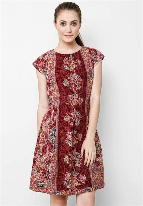 Dermona Batik Peplum Mini Dress 17 best images about batik and tenun ideas on