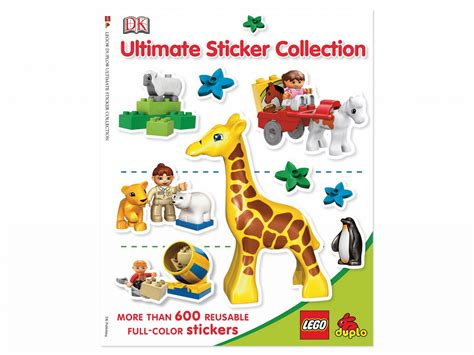 ultimate sticker collection lego city ultimate sticker collections books bricker construit par lego 5000670 duplo ultimate