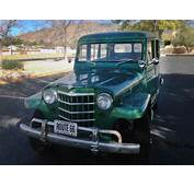 $4500 1951 Willys Jeep Wagon