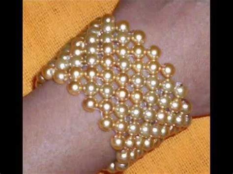 como hacer pulseras con perlas como hacer una pulsera con perlas y cadenas innovadora
