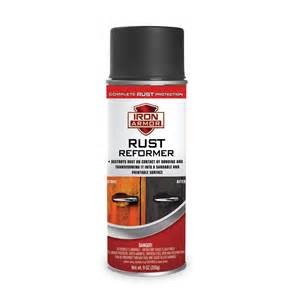 Tire Rot Spray 9 Oz Iron Armor 174 Black Rust Reformer Spray Paint
