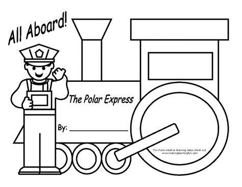 polar express train coloring pages enjoy coloring