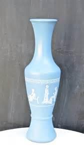 vintage avon grecian inspired vase blue by prettyhomefinds