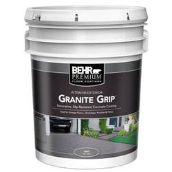 Home Depot 5 Gallon Interior Paint granite grip interior exterior concrete paint 65005 the home depot