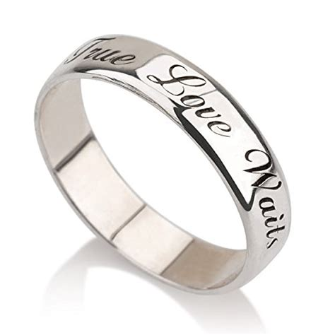 personalized purity ring 925 sterling silver engraved
