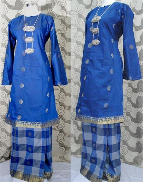 Dress Tenun Ikat Ethnic Tradisional 6 kain songket baju kurung modern