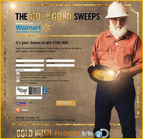 free money gold rush giveaway the go for gold sweepstakes sweeps maniac - Gold Rush Giveaway
