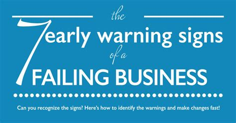 the 7 early warning signs of a failing business bw