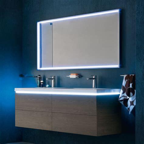 specchi per bagno con cornice specchiera da bagno divina con cornice di a led