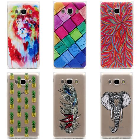 Softcase Samsung Galaxy J5 2016 J510 Anti tpu soft for samsung galaxy j5 2016 j510 5 2inch transparent printing drawing silicone