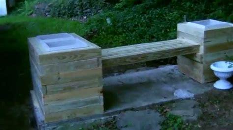 youtube bench bayview bench planter corner combo wishbone site furnishings soapp culture