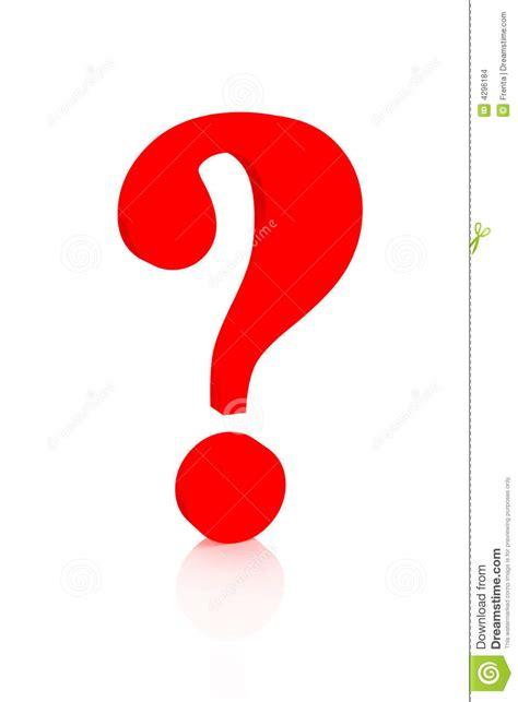 imagenes simbolos de interrogacion signo de interrogaci 243 n del color rojo imagenes de archivo