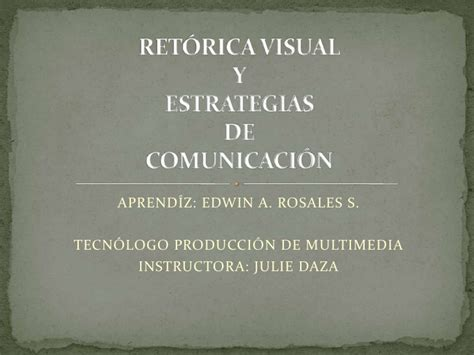 imagenes retoricas visuales ret 243 rica visual
