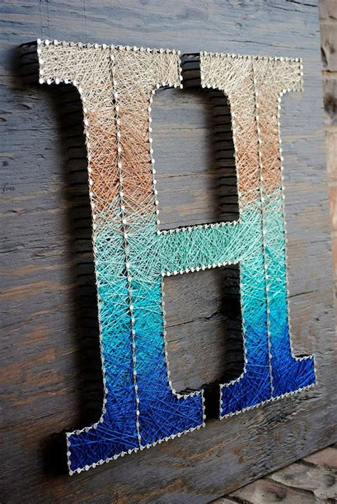 How To Make String Letters - top 10 ideas string letters enter diy