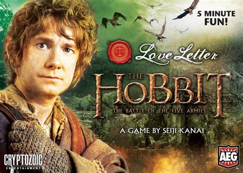 Letter Hobbit Letter The Hobbit The Battle Of Five Armies