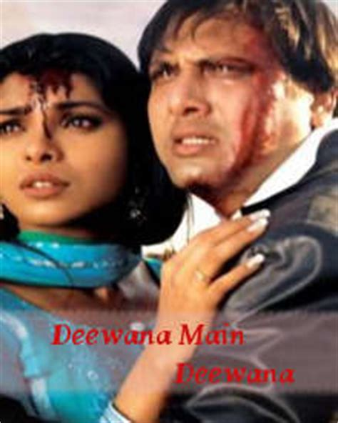 biography of movie deewana deewana main deewana story deewana main deewana hindi