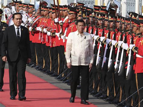 Thailand Eye Philippines Thailand Eye Stronger Defense Economic Ties