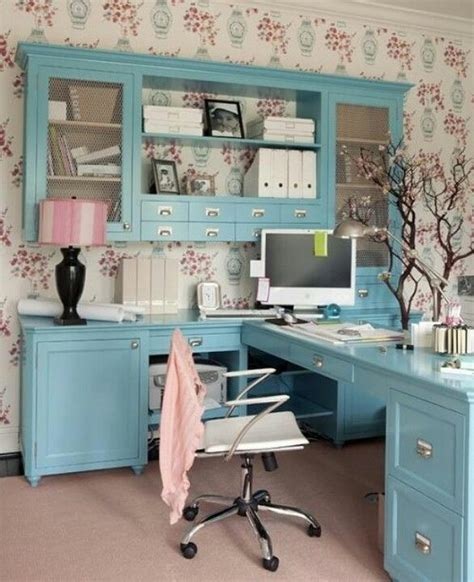 Cottage Style Home Office Furniture Feminine Office Cottage Style For The Home Pinterest