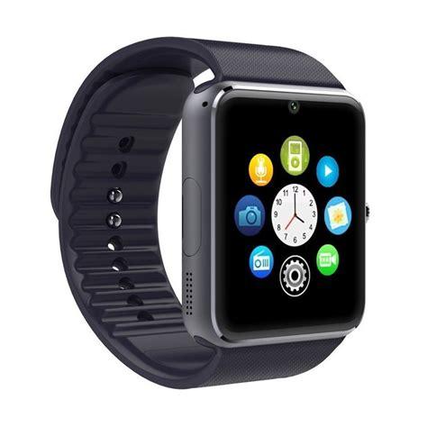 jual onix gt08 black smartwatch harga kualitas terjamin blibli