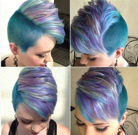 1000 images about coloured shaved and awesome hair on kr 243 tkie fryzury magazyn fryzury