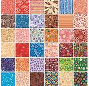 Modern Geometric Patterns For Kids Wallpaper