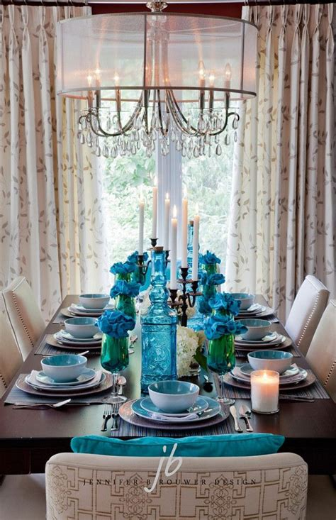 17 best ideas about turquoise dining room on