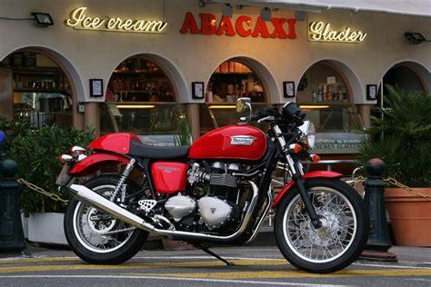 125er Motorrad Triumph by Triumph Bonneville Oder Thruxton Motorr 228 Der 125er