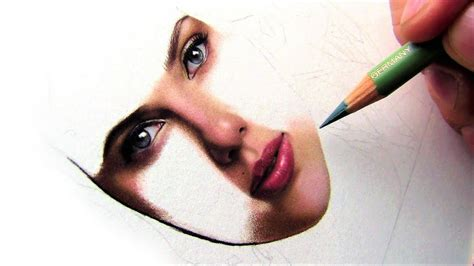 colored pencil skin tones drawing a realistic and skin tone in colored pencil