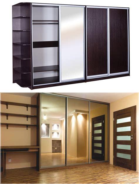 desain lemari baju kaca desain lemari pakaian rak baju minimalis modern