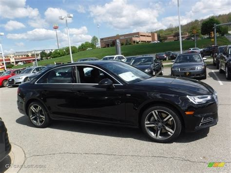 Mythos Black Metallic 2017 Audi A4 2 0t Premium Plus
