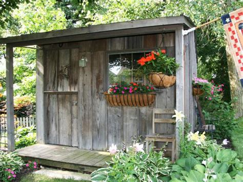 Small Potting Shed Ideas by Money Saving Hardscaping Ideas Landscaping Ideas And