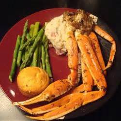 crab legs with garlic butter sauce recipe details calories nutrition information