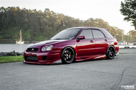 custom subaru hatchback 2005 subaru wrx wagon stationwagon tuning custom wallpaper