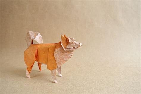 Origami Shepherd - new year 2018 origami extravaganza