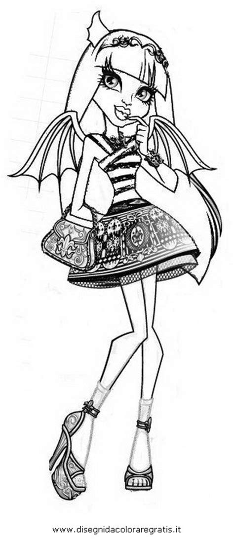 monster high rochelle coloring pages coloriage coloring pages for monster high rochelle goyle