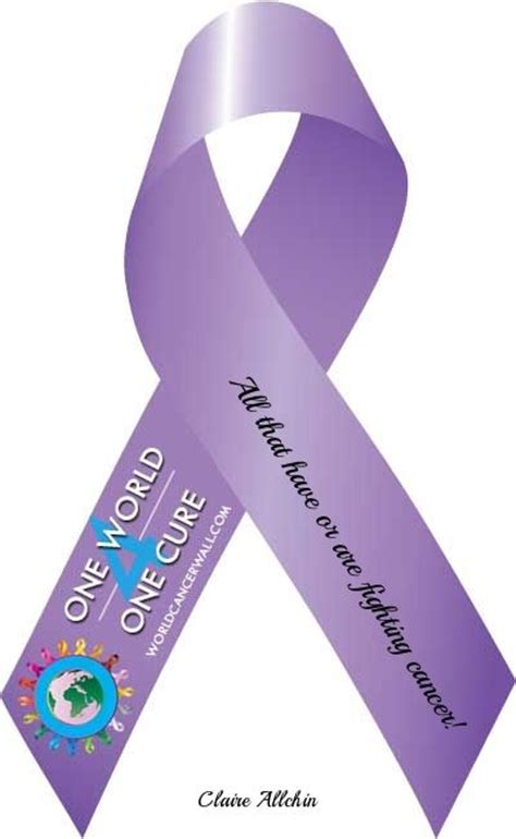all cancer ribbon color pin by marguerite horton on health