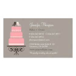birds and cake business cards zazzle