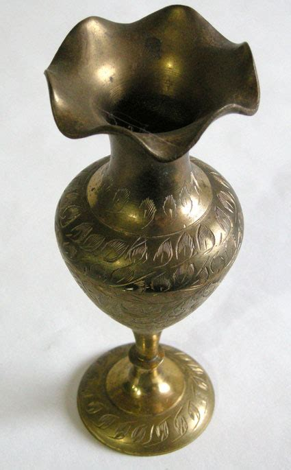 east indian brass vase collectors weekly