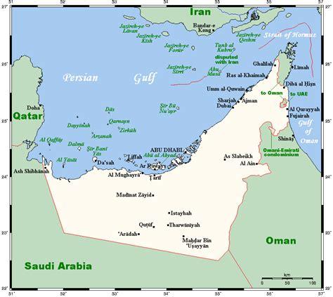 Uae World Geography Of The United Arab Emirates