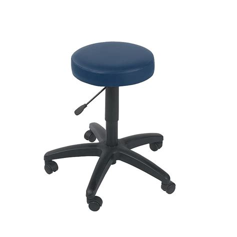 Navy Stool by Sunflower Navy Gas Lift Stool Sports Supports
