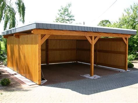 Enclosed Carport Designs wooden carport ideas in the backyard c a r p o r t s sun wooden car and backyards