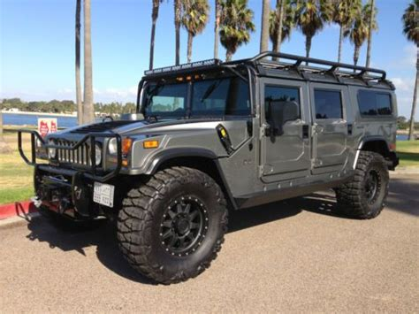 how petrol cars work 2006 hummer h1 parking system purchase used 2006 hummer h1 alpha saudi edition 9k miles 100k in upgrades custom interior in