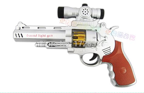 Mainan Pistol Senapan Soft Bullet Flash Sucker electric toys flash っ eight eight gun of toys gunfire revolver revolver simulation there